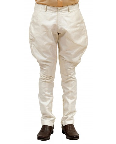 AUM DESIGN WHITE POLO PANT