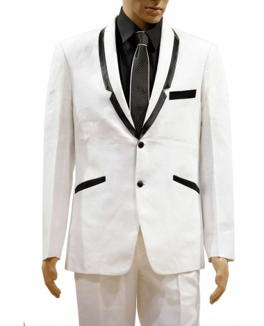 AUM DESIGN WHITE CONTEMPORARY SUIT