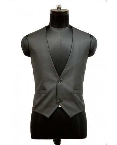 AUM DESIGN GRAY UNIQUE WAIST COAT