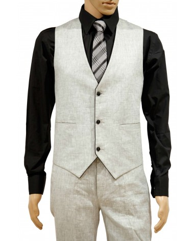 AUM DESIGN WHITE WAIST COAT WITH TROUSER