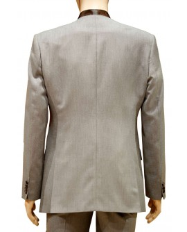 AUM DESIGN BROWN BROWN TRENDY SUIT