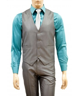AUM DESIGN GREY STYLISH WAIST COAT WITH TROUSER