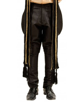 AUM DESIGN BLACK POLO PANT