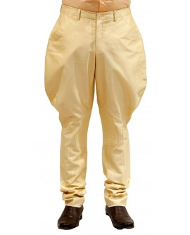 AUM DESIGN GOLDEN BEIGE POLO PANT