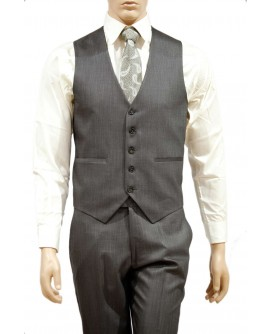 AUM DESIGN GREY PARTY WAIST COAT WITH TROUSER