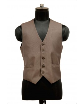 AUM DESIGN BROWN VINTAGE STYLE WAIST COAT