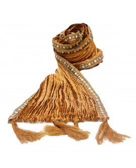 Aum Design Menswear Golden Stole